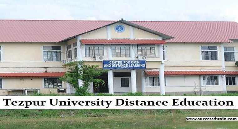 Tezpur University Distance Education